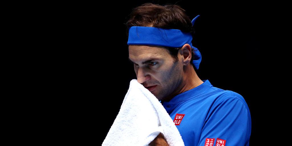 Roger Federer at ATP Finals