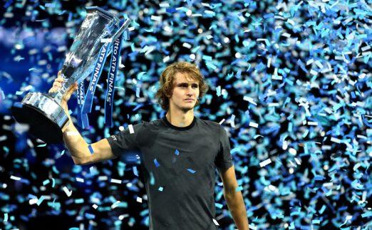 Alexander Zverev with ATP title