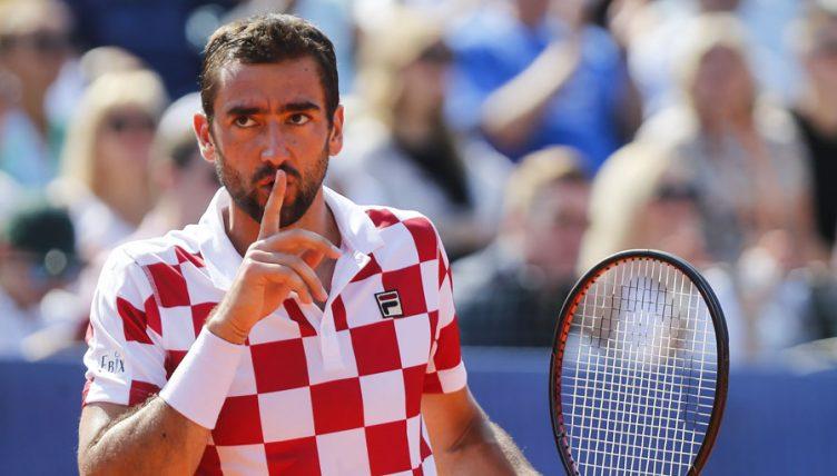 Marin Cilic at Davis Cup