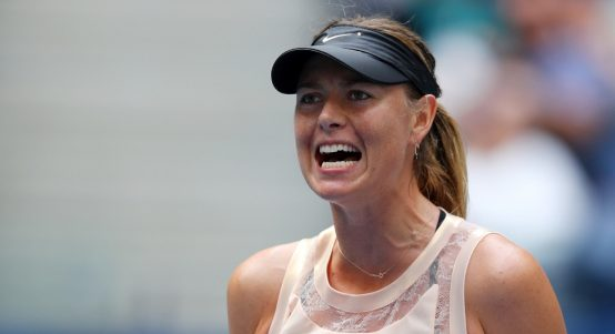 Maria Sharapova upset