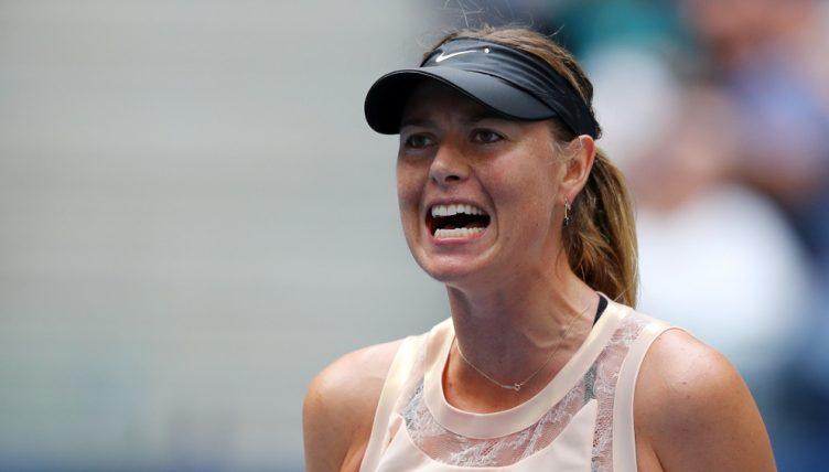 Maria Sharapova upset