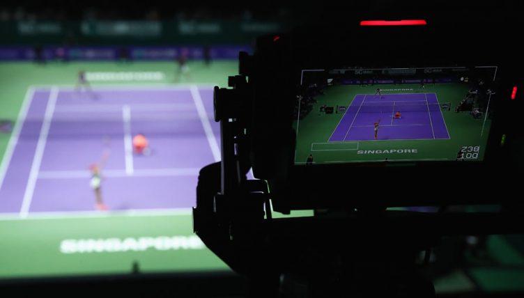 Tennis tv camera