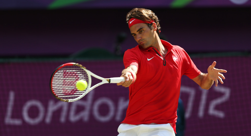 Roger Federer at the Olympics