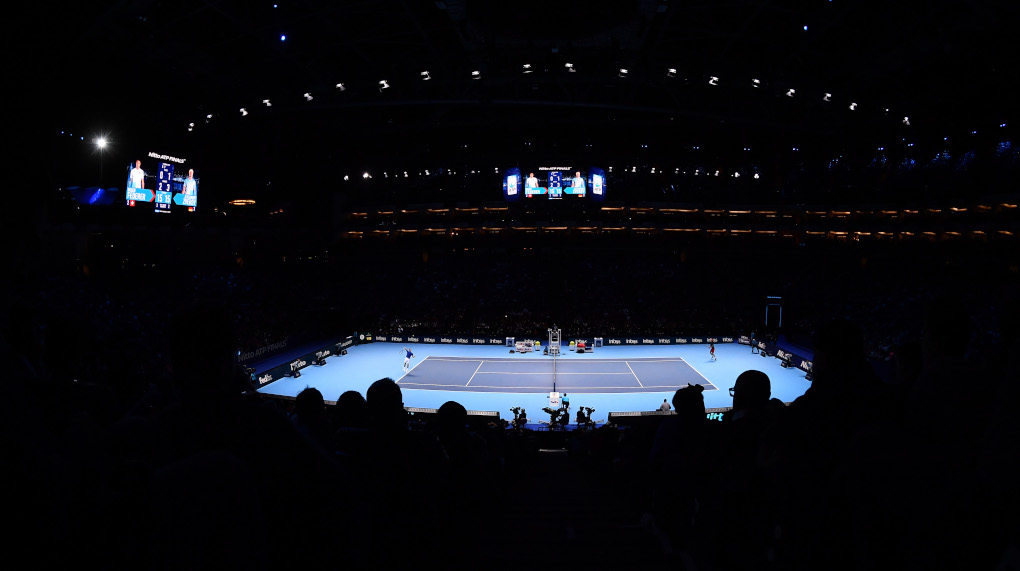 ATP Finals at London's O2 Arena.