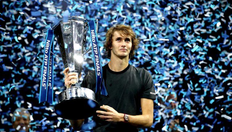 Alexander Zverev ATP Finals trophy