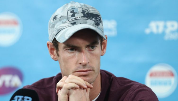 Andy Murray press conference
