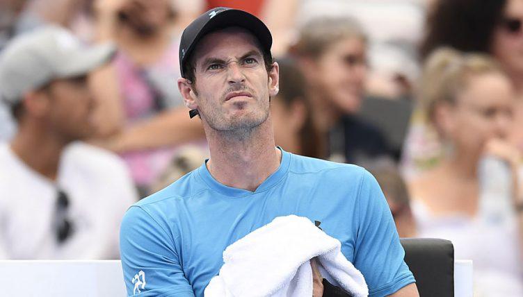 Andy Murray dismayed
