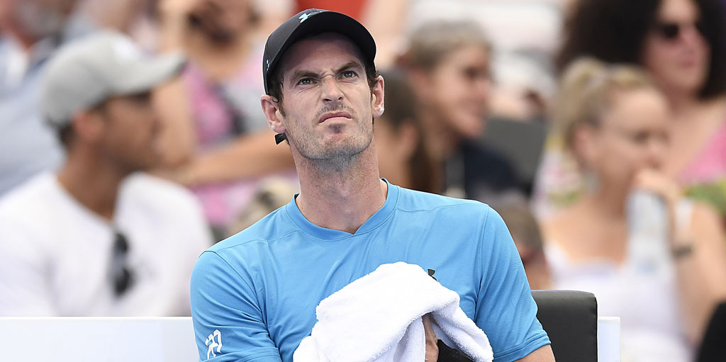 Andy Murray dismayed