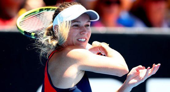 Caroline Wozniacki impressing in Auckland