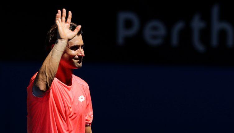 David Ferrer waves goodbye