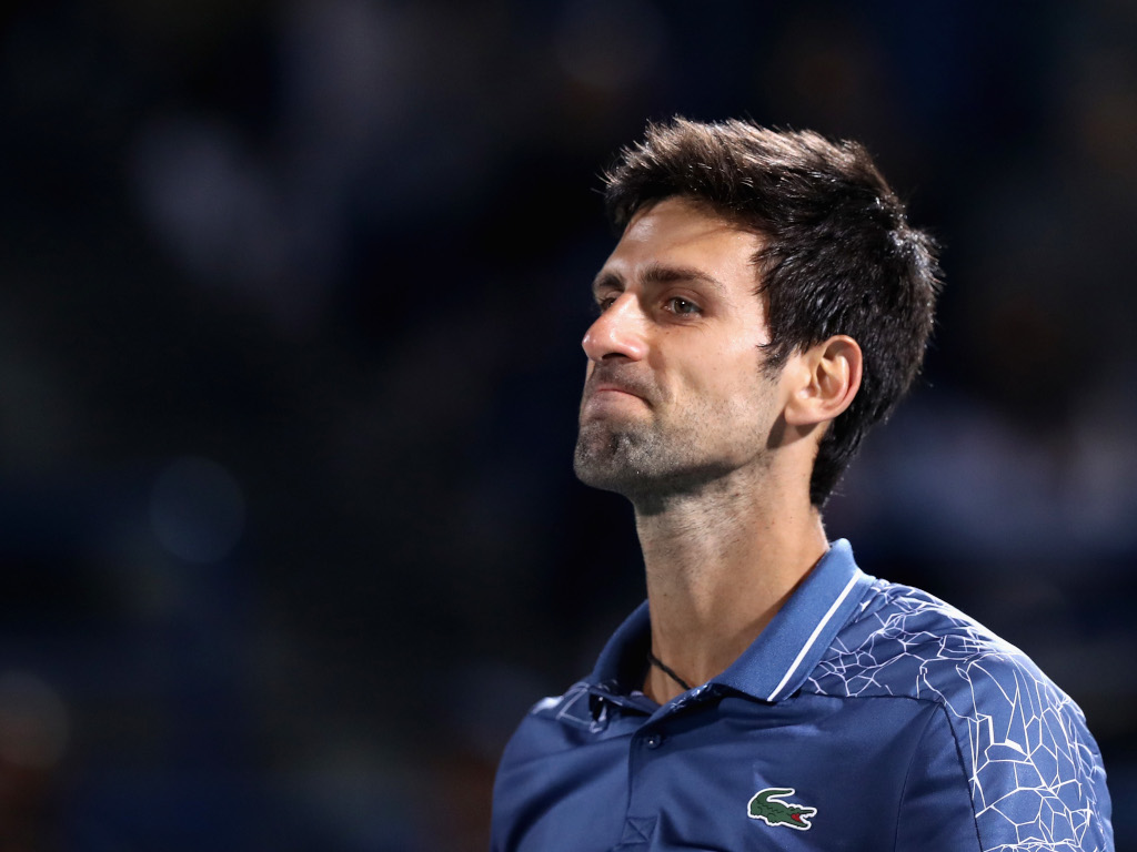 Novak Djokovic disappointed