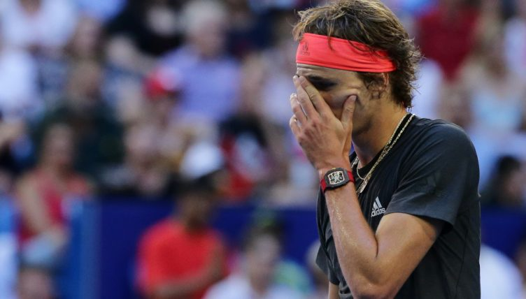 Alexander Zverev disappointed