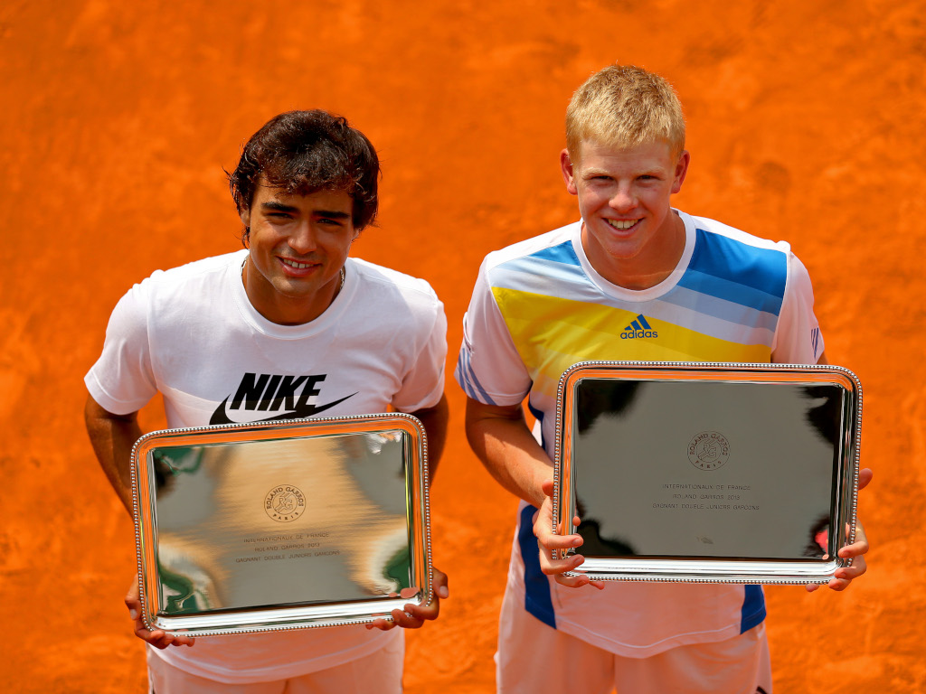 Frederico Ferreira Silva and Kyle Edmund Junior Boys' Doubles French Open