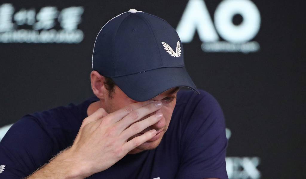 Andy Murray retirement press conference