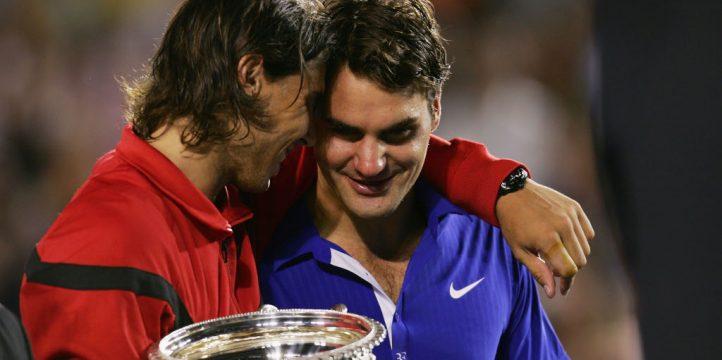 Rafael nadal and Roger Federer 2009 Australian Open final