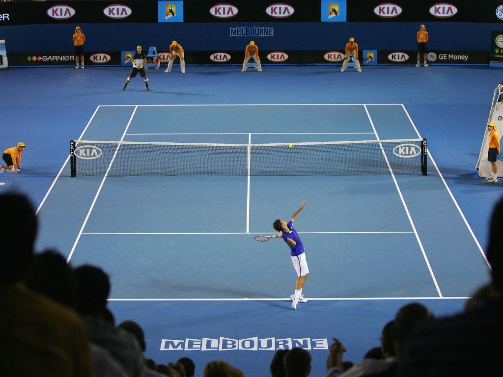 2009 Australian Open final Rafael Nadal and Roger Federer