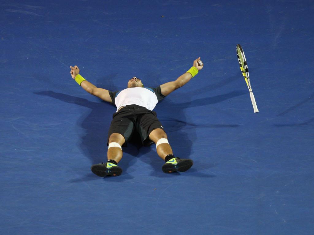 Rafael Nadal 2009 Australian Open final