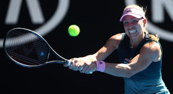 Angelique Kerber in action