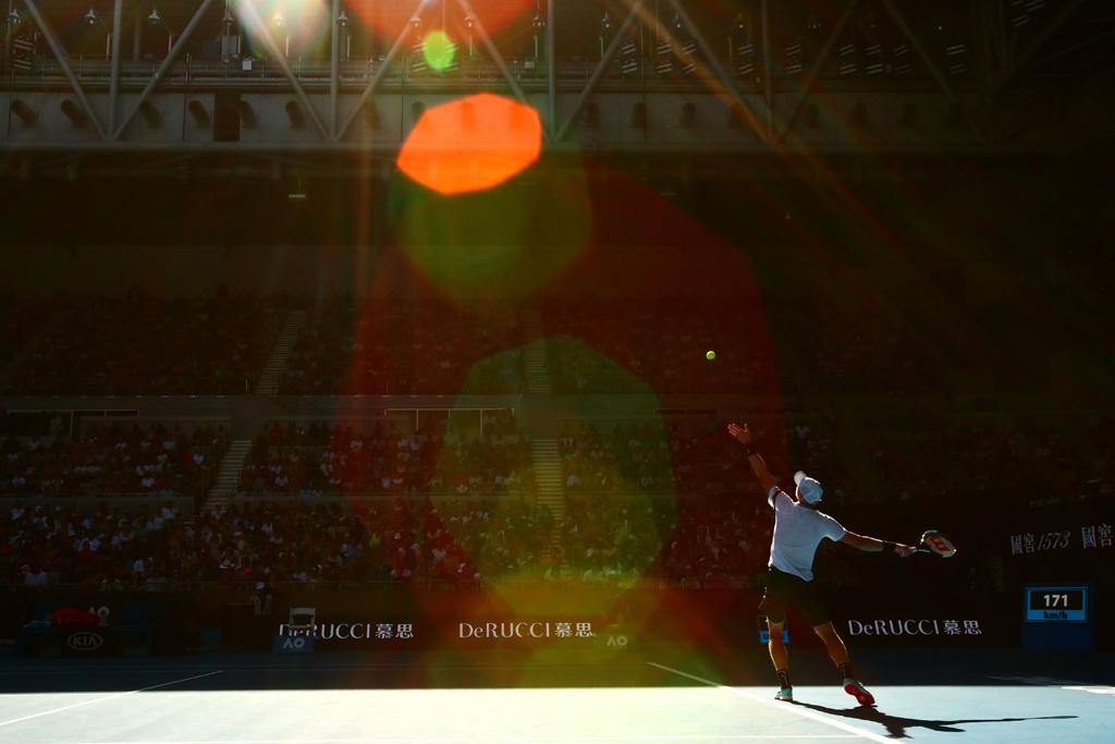 Kyle Edmund at Australian Open