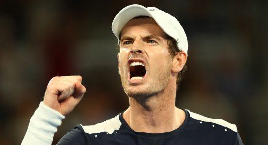 Andy Murray roars