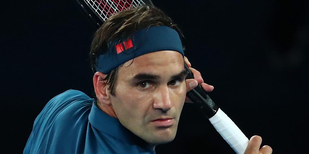 Roger Federer at Australian Open