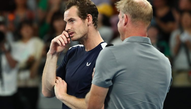 Andy Murray on court interview