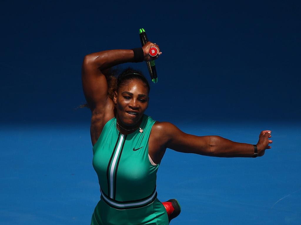 Nothing jaded about Williams play as she beats Maria in 49 minutes