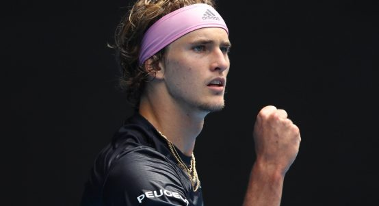 Alexander Zverev and his 'perfect' body scores a routine win