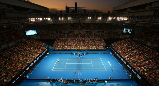 Australian Open Melbourne Park general view