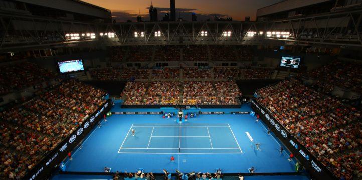 Australian Open Melbourne Park general view