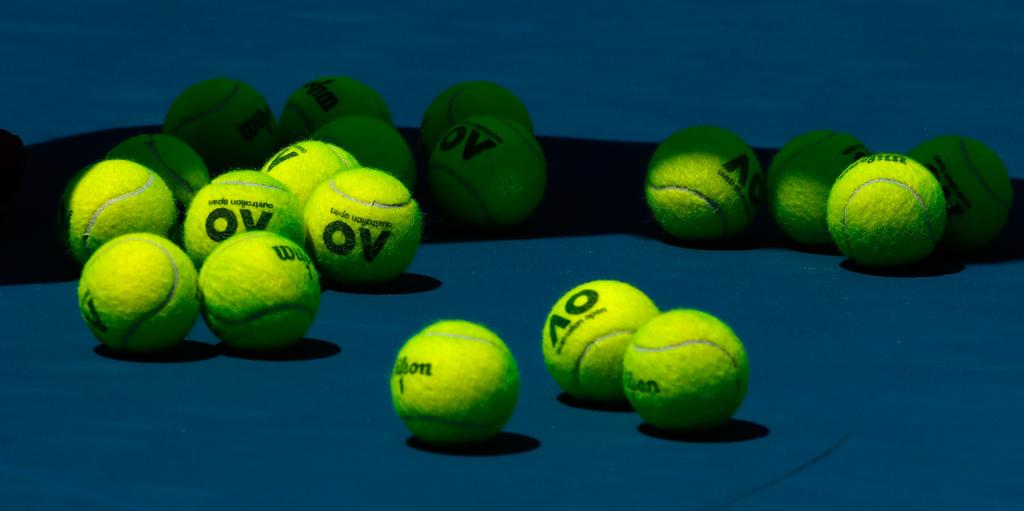 Australian Open balls