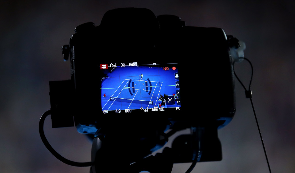 Australian Open camera