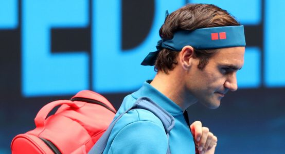 Roger Federer tells Johanna Konta to 'deal with it, move on'