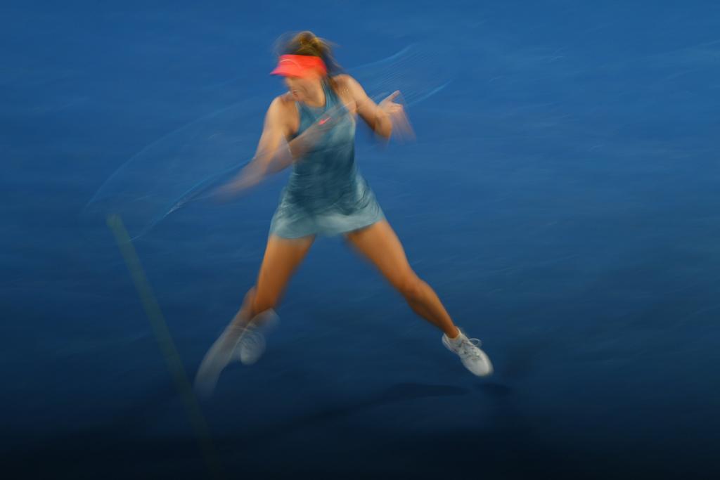 Maria Sharapova blur