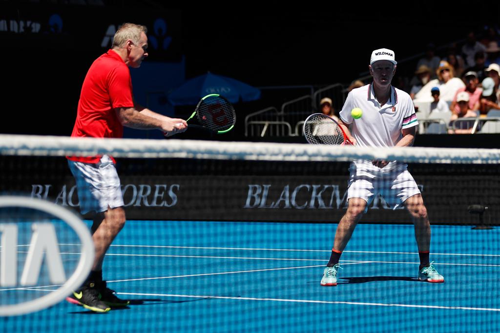 John McEnroe at Australian Open