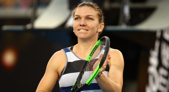 Simona Halep - sets up Serena Williams clash