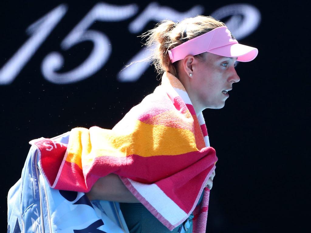 Angelique Kerber departs