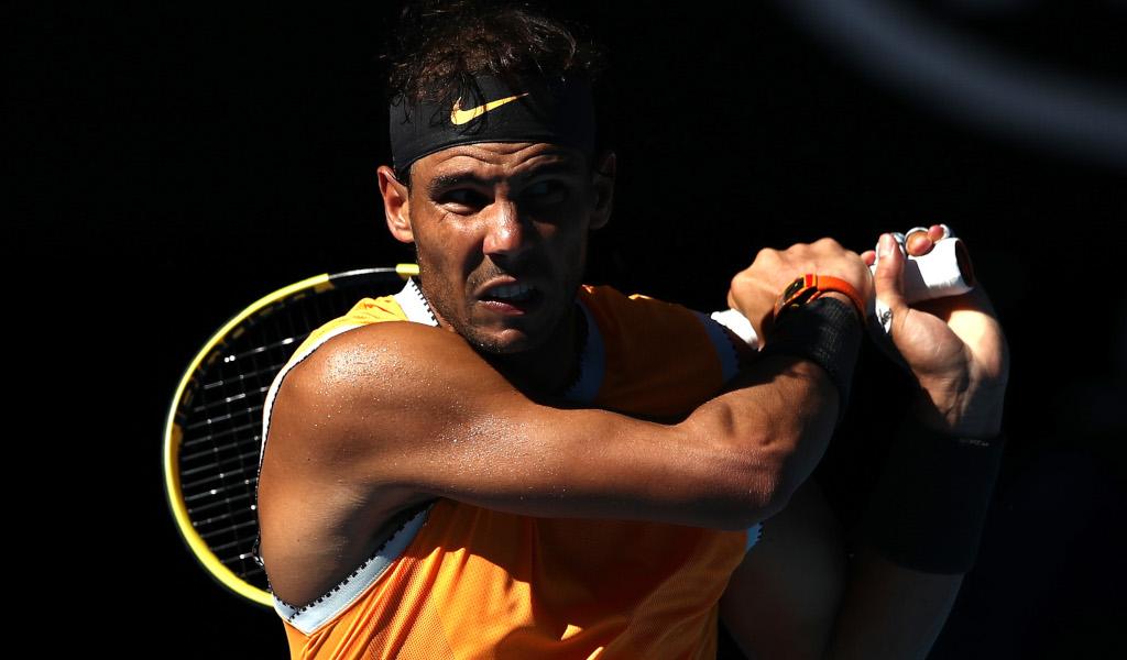 Rafael Nadal backhand