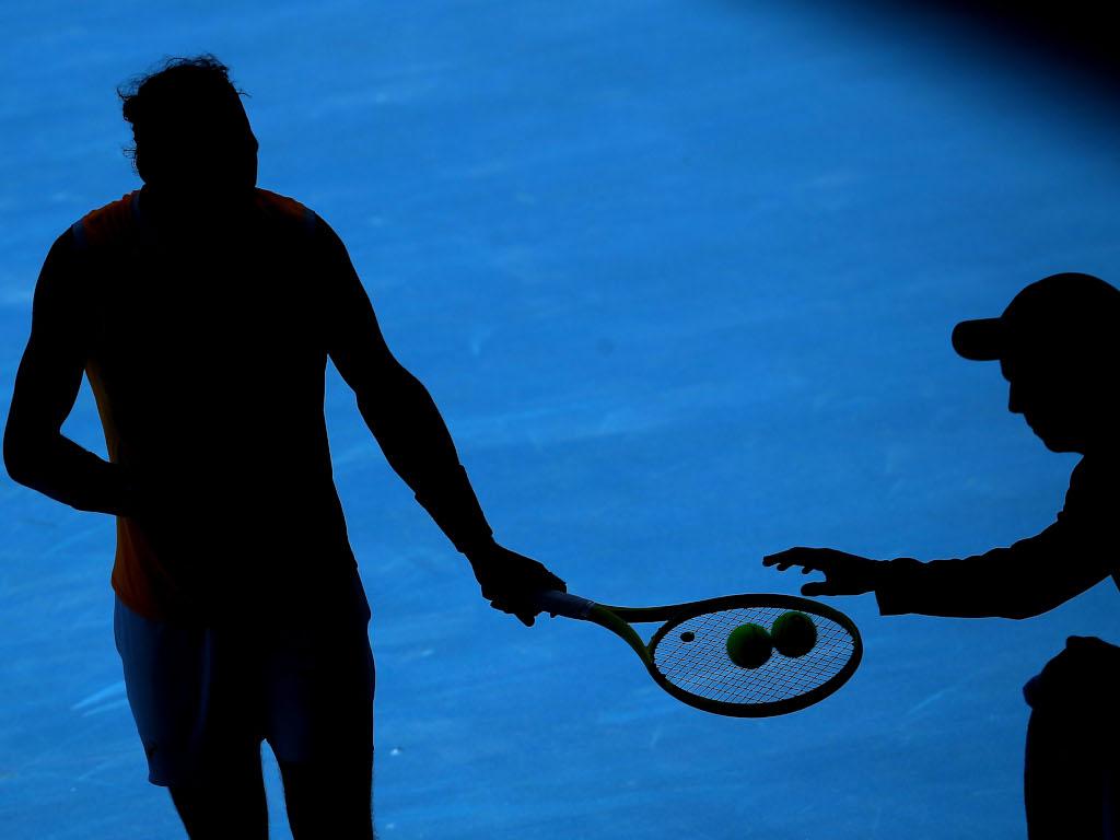 Rafael Nadal shadow