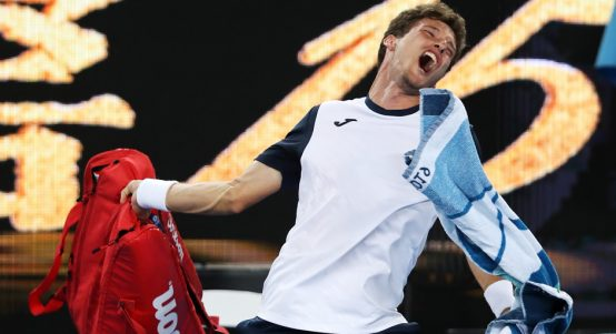 Pablo Carreno Busta rages at Australian Open
