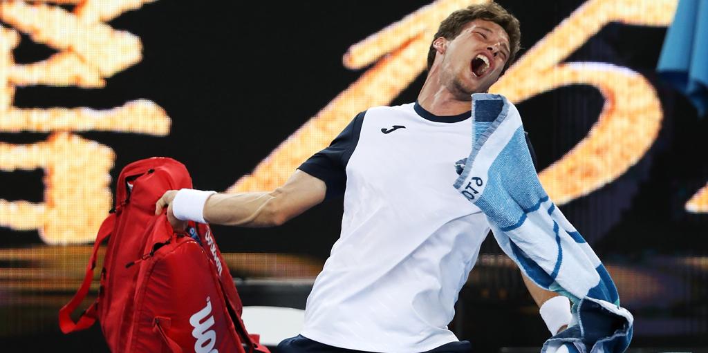 Pablo Carreno Busta rages at Australian Open