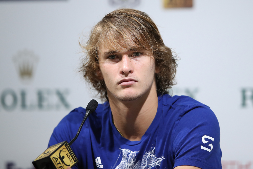 Alexander Zverev grumpy with press