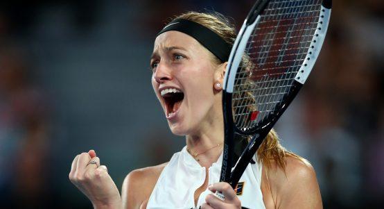 Petra Kvitova celebrates