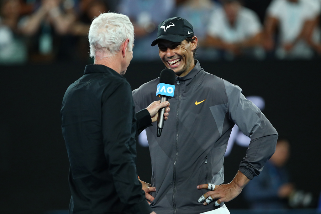 Rafael Nadal interview