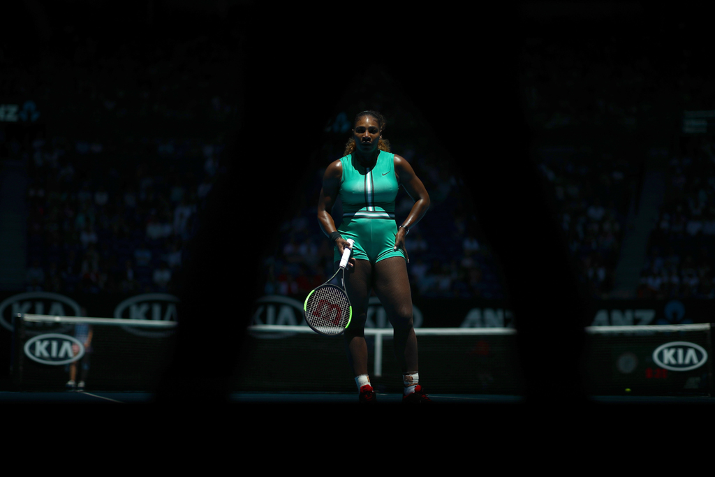 Serena Williams standing