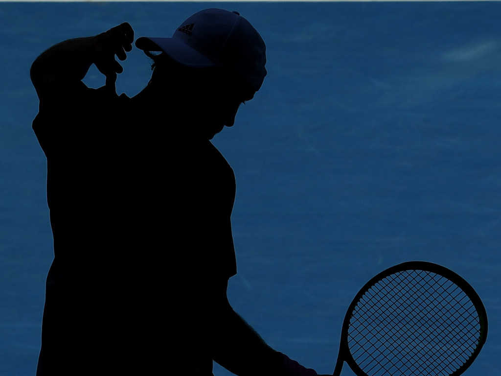 Lucas Pouille shadow