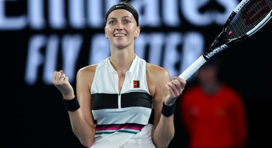 Petra Kvitova at Australian Open