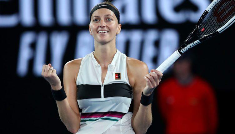 Petra Kvitova at Australian Open