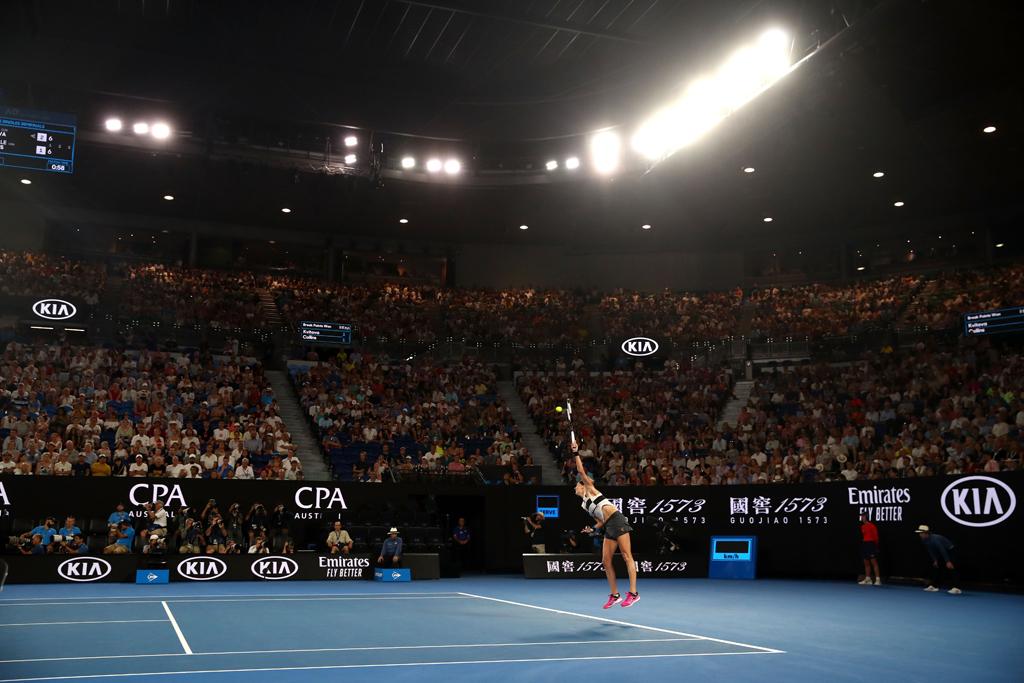 Australian Open indoors
