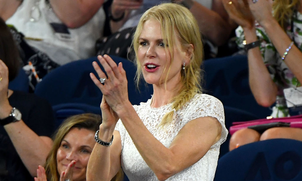 Nicole Kidman at the tennis